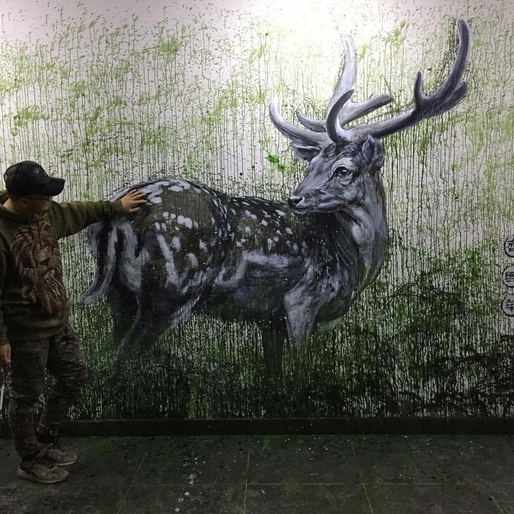Artist: Qi Xinghua Location Bei - streetartunitedstates | ello
