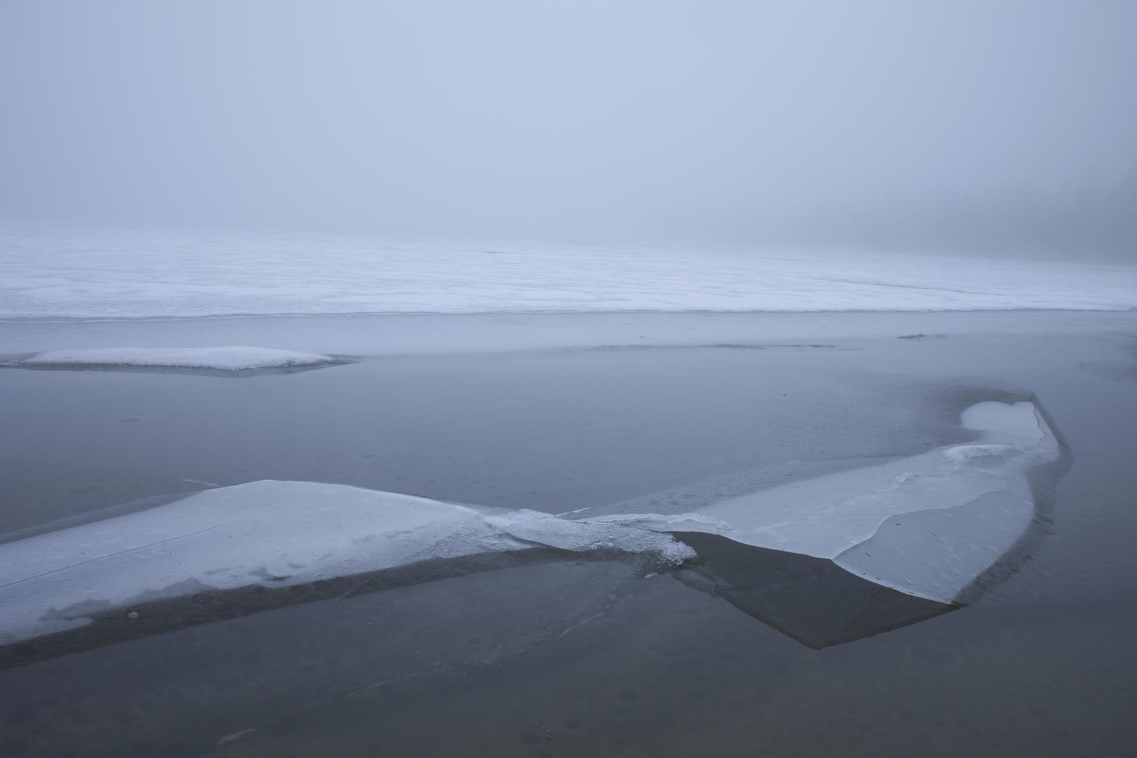 Melting ice - photography, finland - anttitassberg | ello