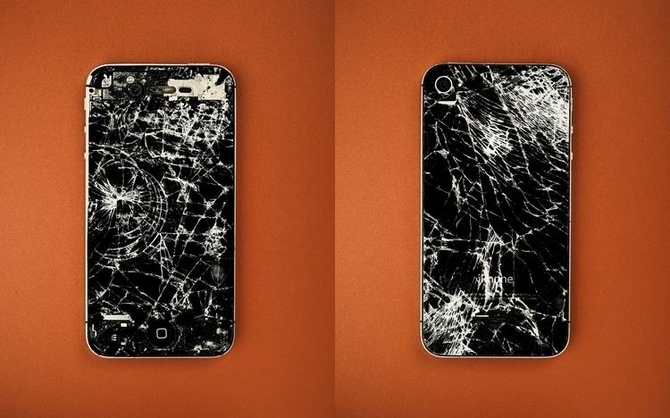 broken phone - colour, studio, stilllife - paulie | ello