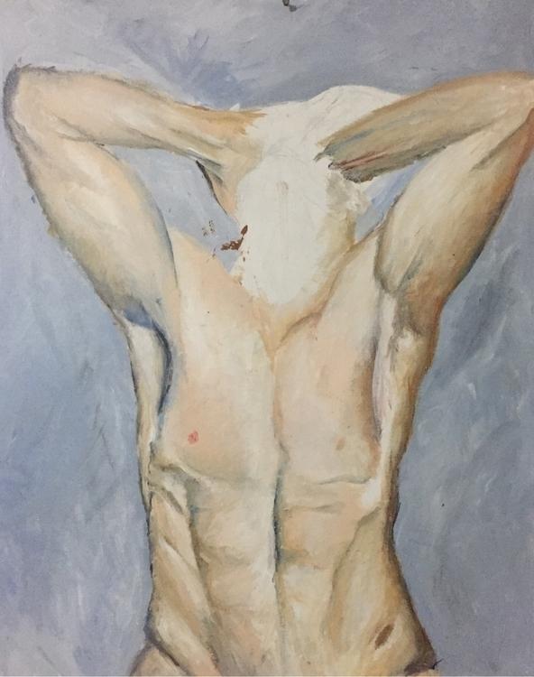 2015 - paint, painting, man, abs - nellie380   ello