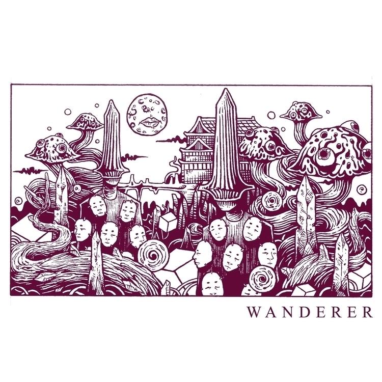 WANDERER. Archival Ink Paper - dzarethusa | ello