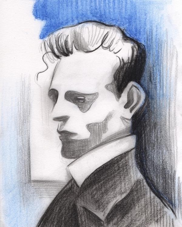 Léon - illustration, drawing, leonspilliaert - tereau | ello