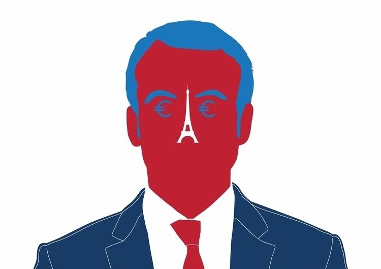 Emmanuel Macron portrait Die Ze - federicogastaldi | ello