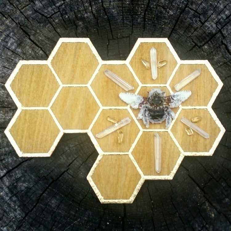 Honeycomb Grid . excited introd - sirens_song_magick | ello