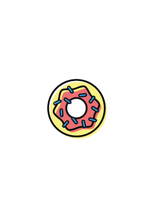 Donuts - icon, design, graphic - benja_d | ello