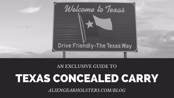 Concealed Carry State Texas Rep - aliengearholsters | ello