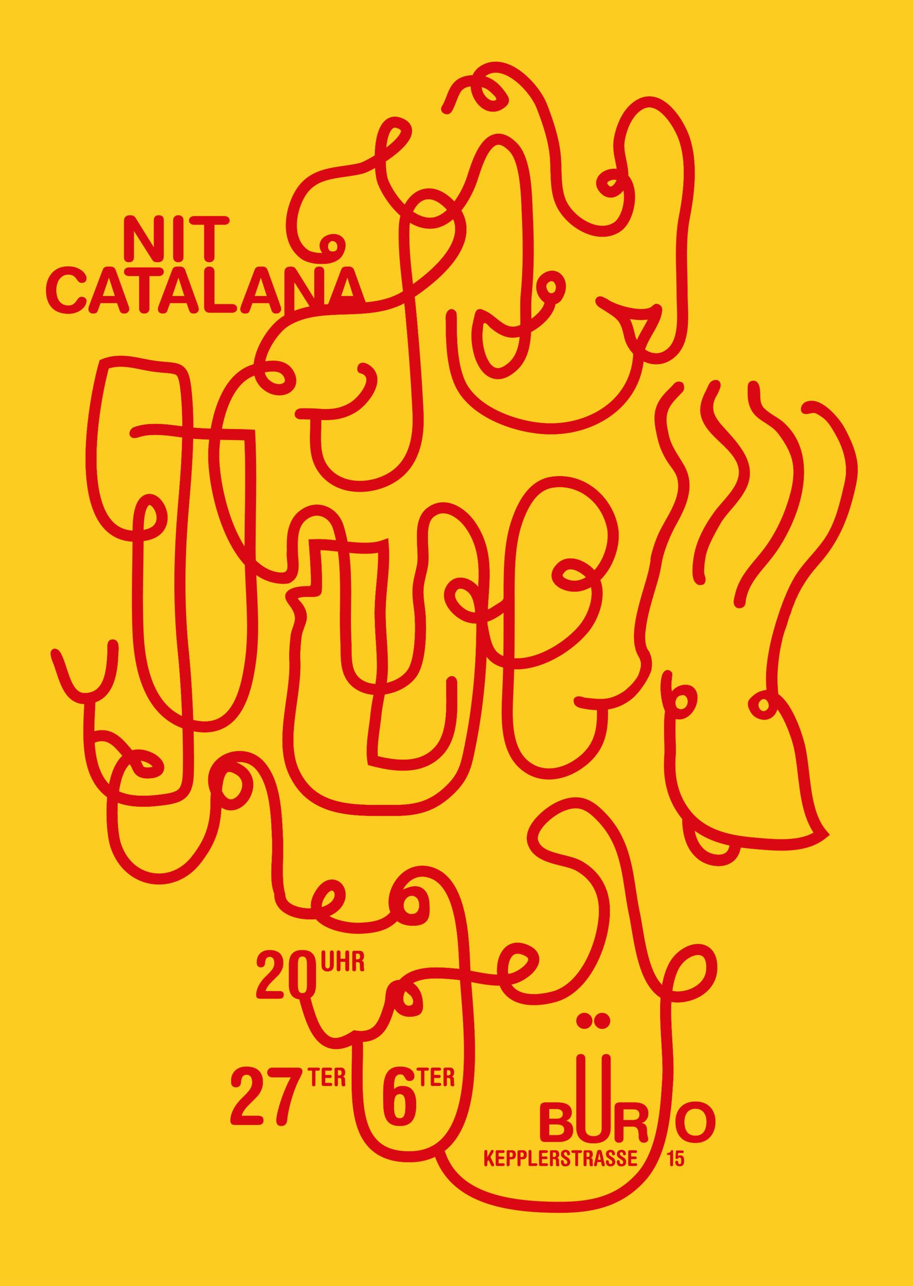 NIT CATALANA – Poster CINESCULT - vicivici | ello