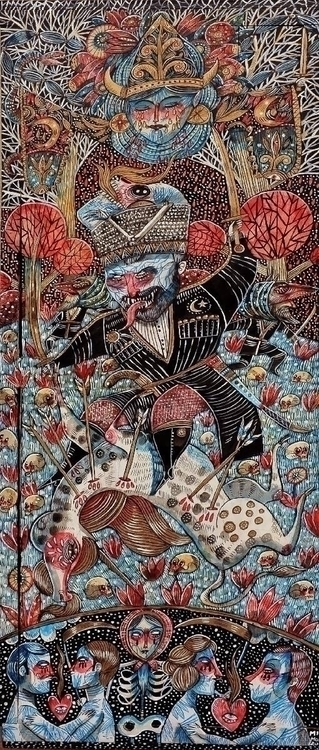 DEVIL CAUCASUS painting terribl - minamond | ello