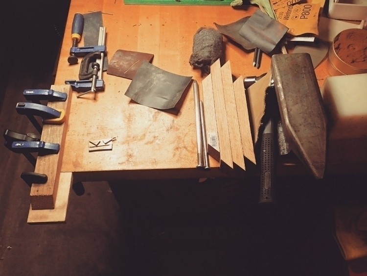 workspace, bench, home, anvil - shawn_from_tx | ello