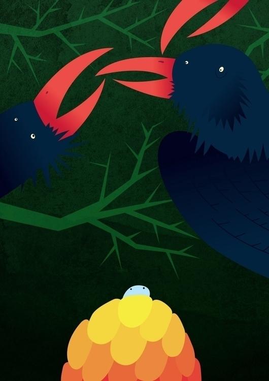 book illustration 5 - davidgore - davidgore | ello