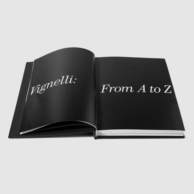"Reissuing ""Vignelli: Book Kicks - graphicdesign   ello"