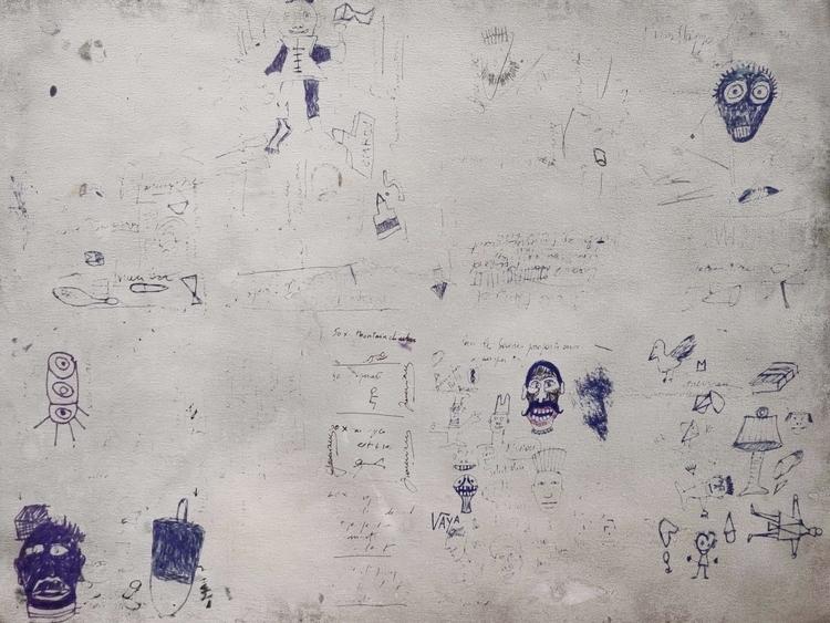 Cédric Joveniaux - art, drawing - particulescreatives   ello
