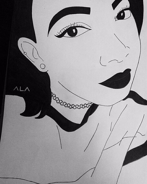 × Lisa Aswani Portrait - thecrazycreative_ | ello