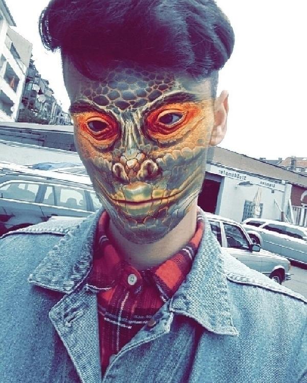 Raptile Face Swap - selfie, face - simonriepe | ello