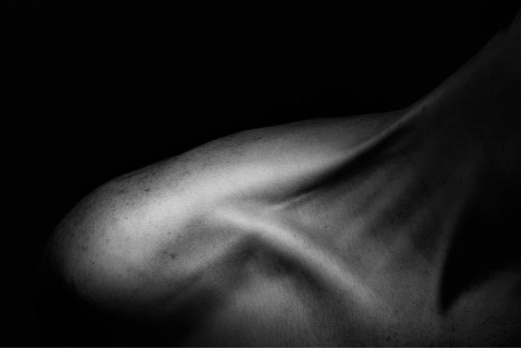 Shoulder Study  - portrait, portraits - networkabstracted | ello