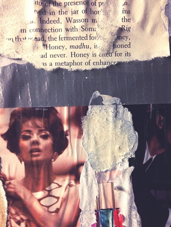 Honey Metaphor - art, collage, abstract - jkalamarz   ello