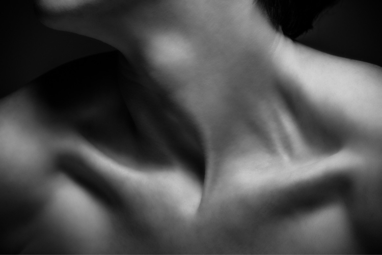 Shoulder Study  - 2, portrait, portraits - networkabstracted | ello
