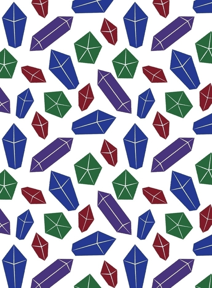 gem themed pattern designed Ado - svaeth | ello