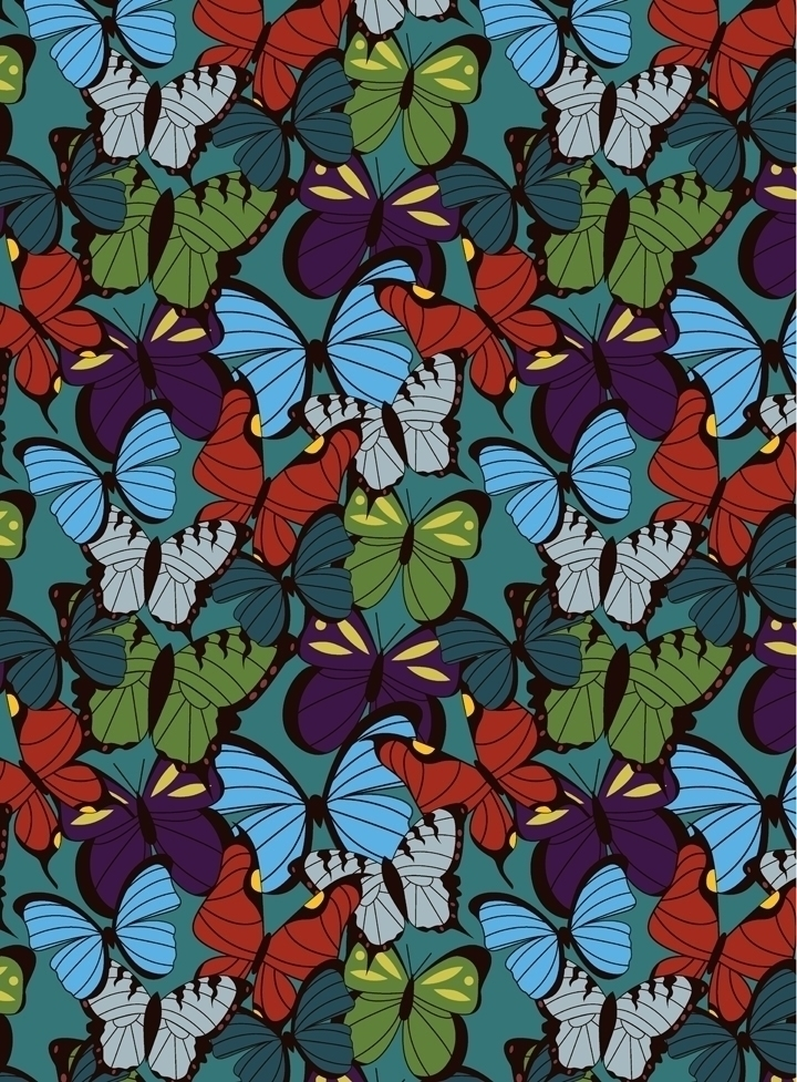 Part pattern collection butterf - svaeth | ello