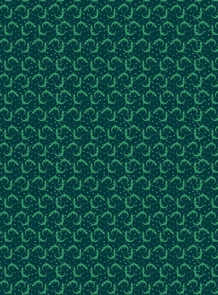 Lizards geckos. ditsy style liz - svaeth | ello