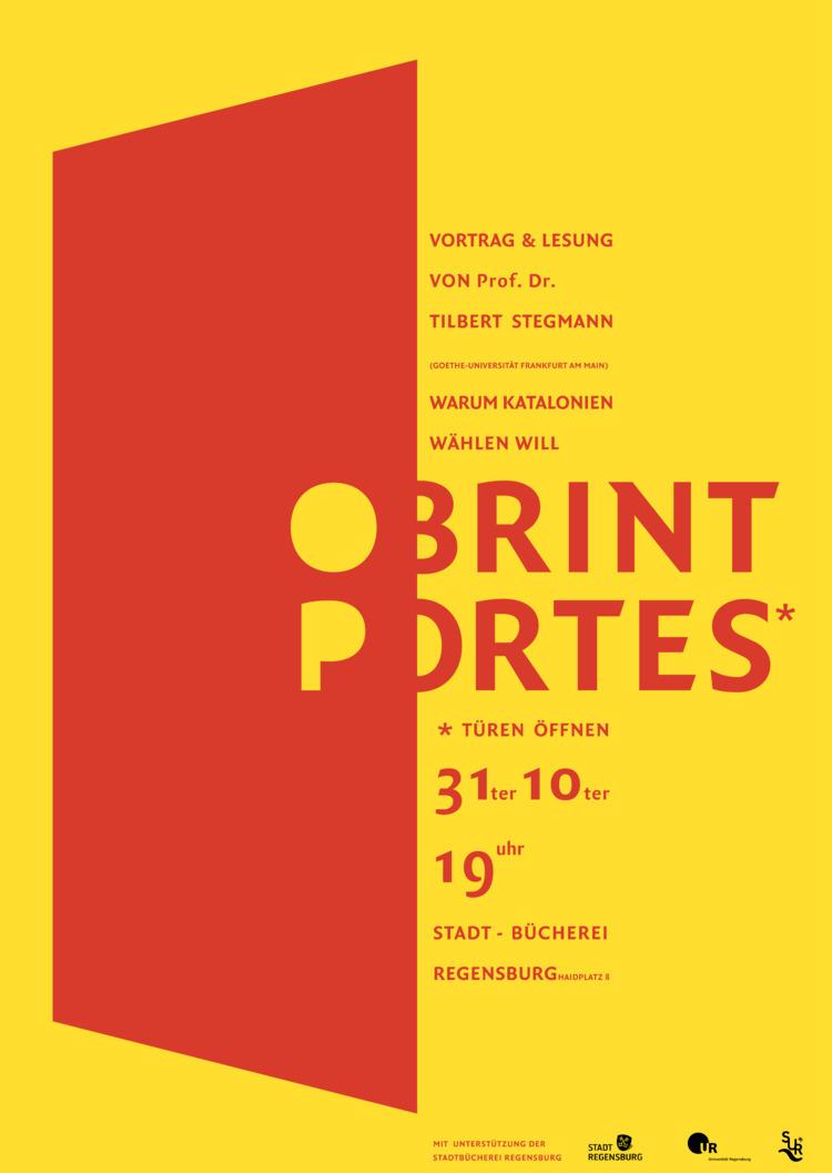 OBRINT PORTES – Poster project  - vicivici   ello