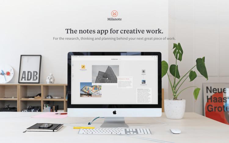 Milanoteapp, work. sign free - app - partfaliaz | ello