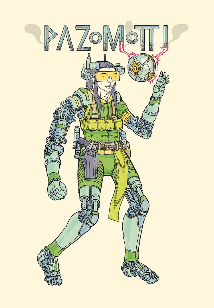 quadruple amputee jedi cyborg b - timrazo | ello