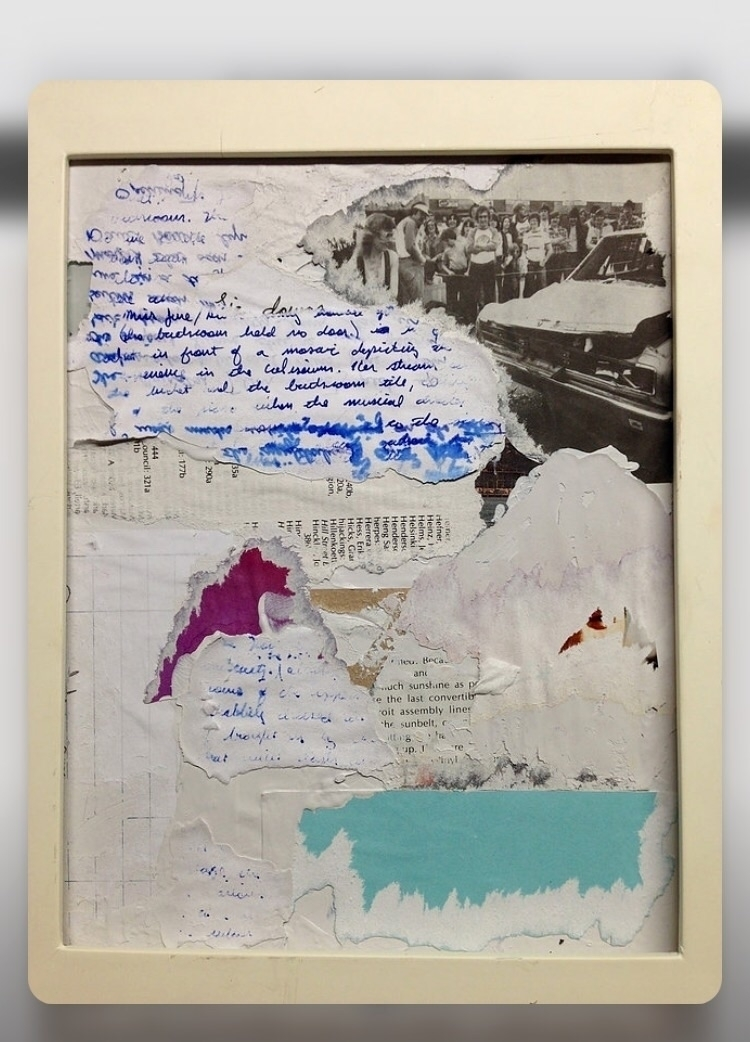 Convertible - art, collage, abstract - jkalamarz | ello