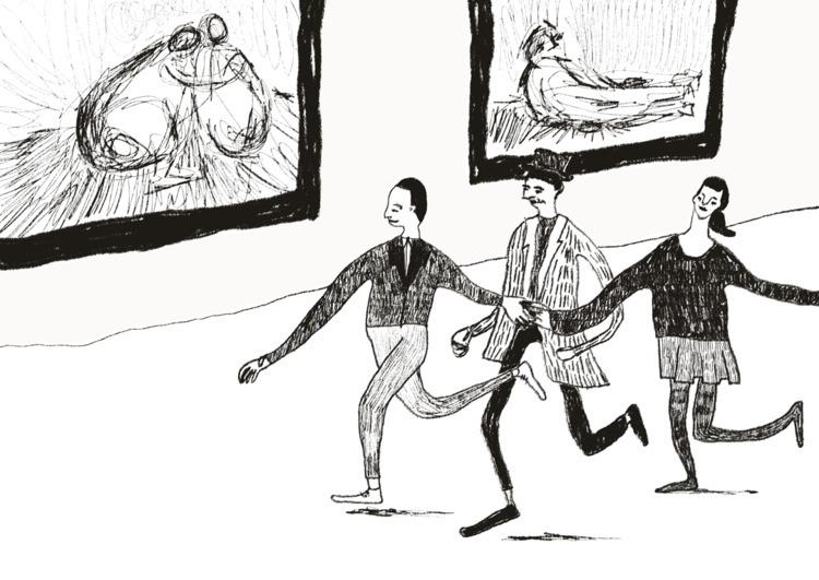 Bande à part - illustration, digitalsketch - similasti | ello