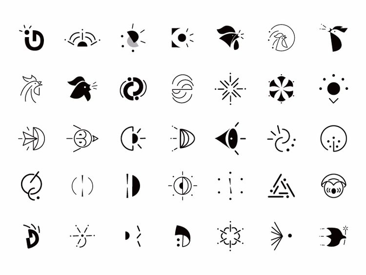 Daybreak App branding logo desi - cubey_studio | ello