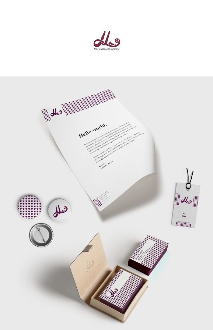 Monogram logo design branding m - mixidot | ello