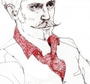 Portrait drawing life ballpoint - helencann | ello