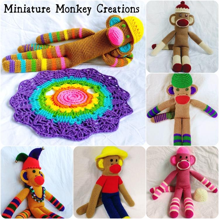 Happy great monkeys stock ready - miniaturemonkeycreations | ello