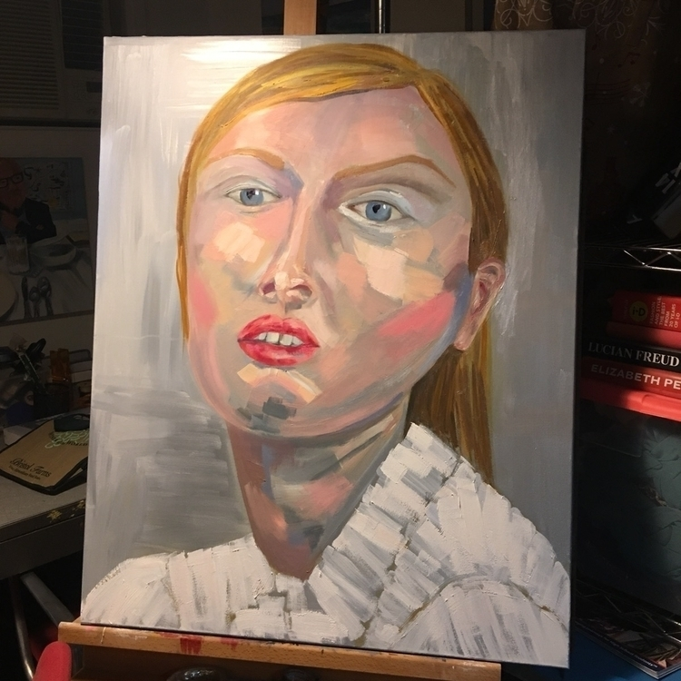 WIP, oil canvas - stephaniebadwolf | ello