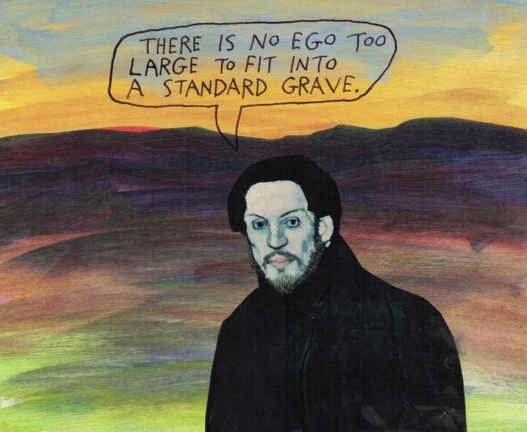 Picasso team - ego, death, grave - stoicmike   ello