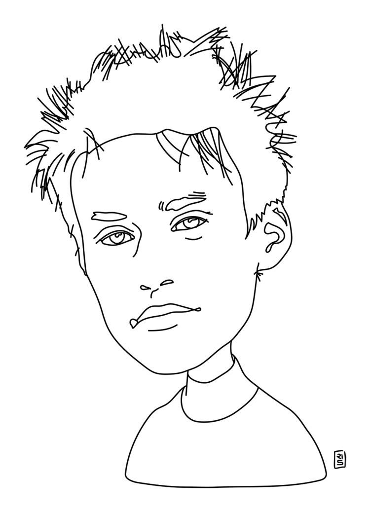 Jacob Collier - illustration, drawing - rivasinge | ello