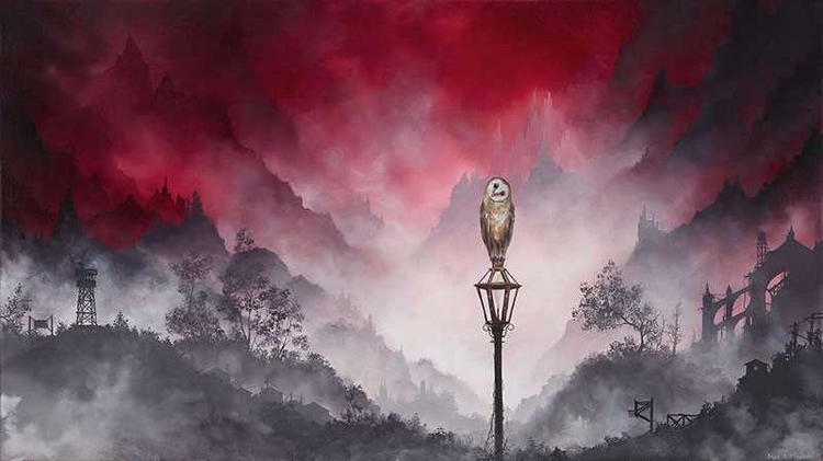 Axiom: Oil Foggy Brian Mashburn - 2illustration | ello