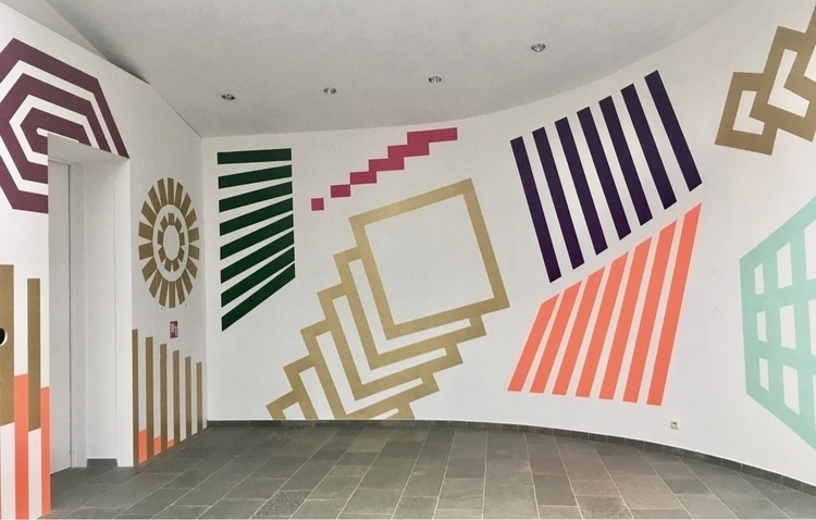 wall graphic festival MOTIF, Ha - esther_toykyo | ello