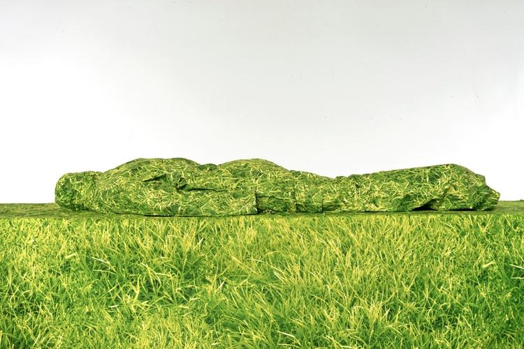 Green gras, 2017 photoprint Gud - gudakoster | ello