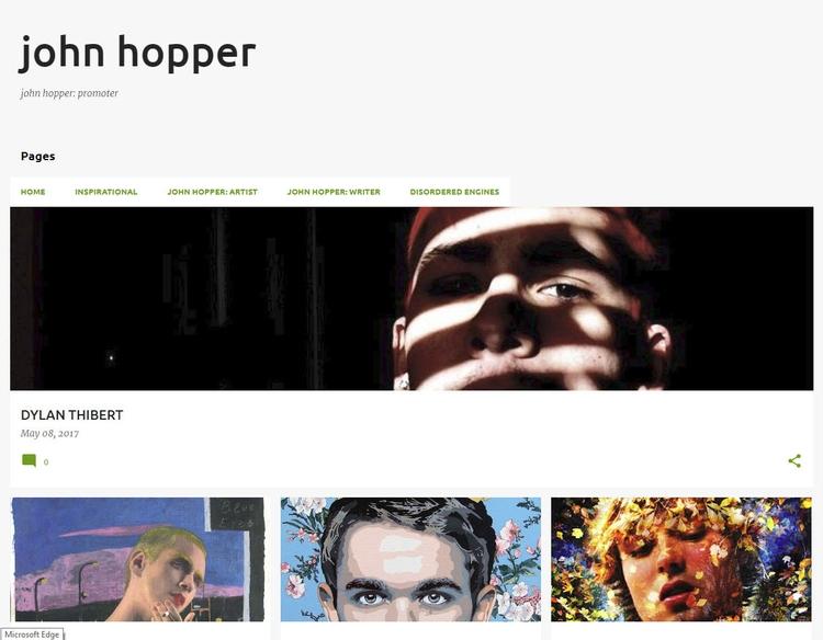 ***JOHN HOPPER PROMOTER*** site - johnhopper | ello