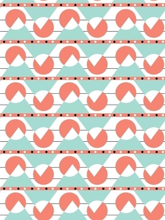 limited palette geometric patte - svaeth | ello