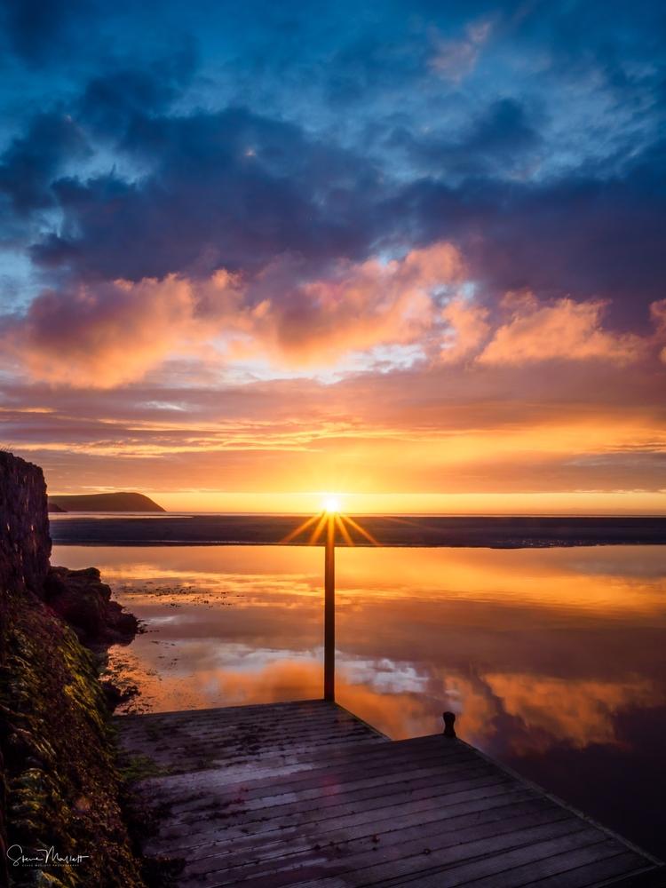 Sunset Parrog Bit special sunse - stevemallett | ello
