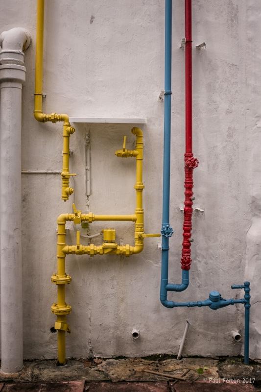 Impressive pipework, Singapore  - paulperton | ello