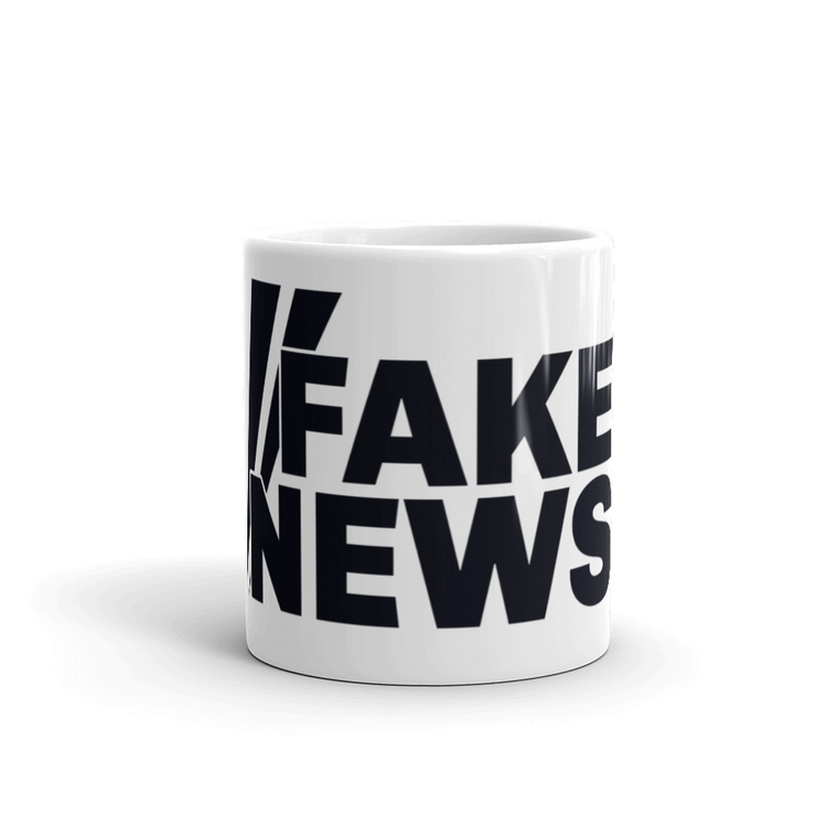 Fake News Mug $15.99 - constantlyviral | ello