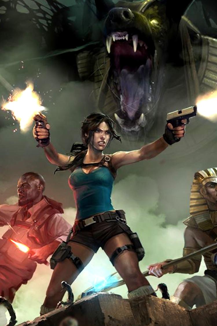 Lara Croft Temple Osiris video  - bradstephenson | ello