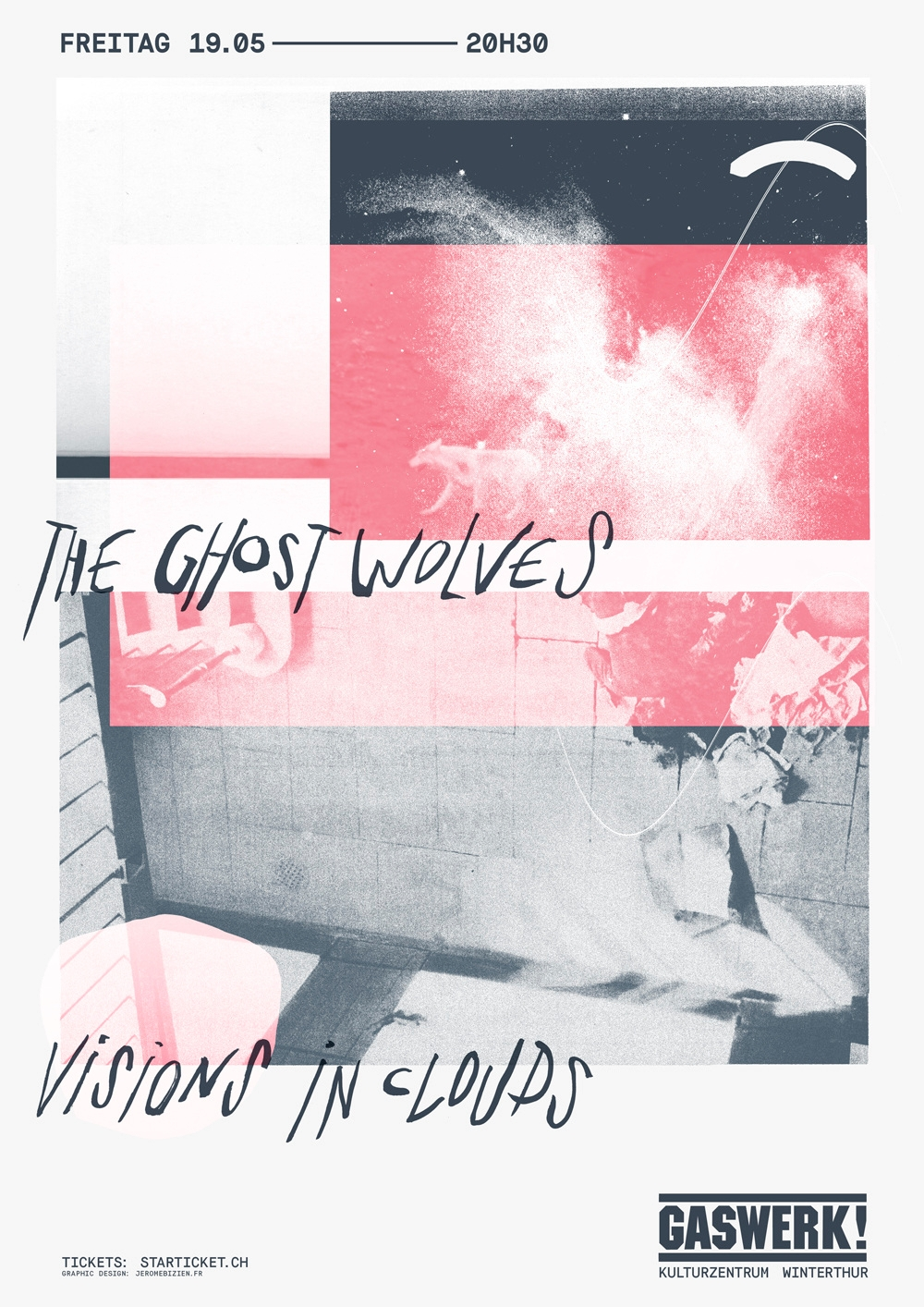 poster Ghost Wolves Visions Clo - vekalex | ello