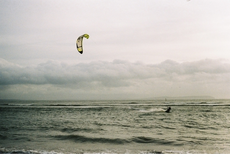 Avon Beach UK Image captured AE - ellokitesurfers | ello