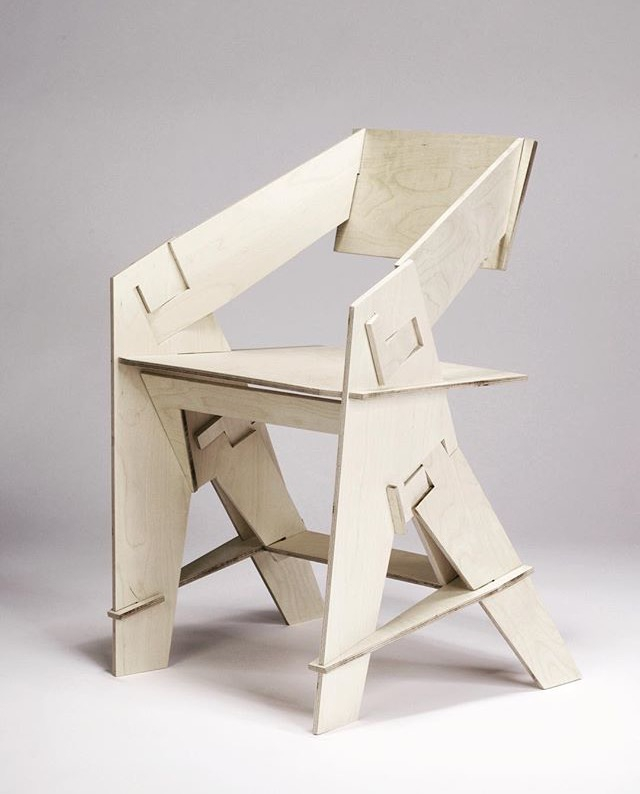 Puzzle Chair Animaro - chair, puzzle - letsdesigndaily | ello