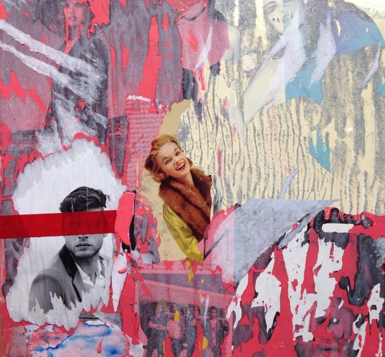 Vying Material Education - art, collage - jkalamarz   ello