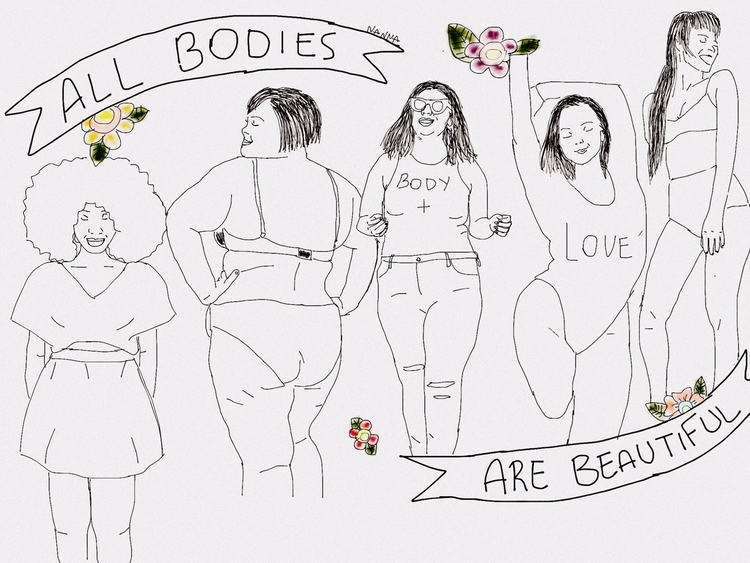 Body Positive - nannart | ello